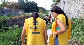 Estudiantes recolectan siete toneladas de materiales sólidos en el Río Pereyra