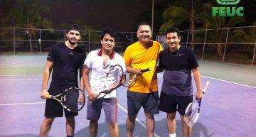 """Comienza torneo de Tenis """"Amigos de la FEUC"""""""