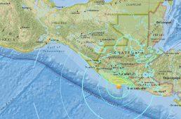 Guatemala registra sismo de 6.8 grados sin afectaciones