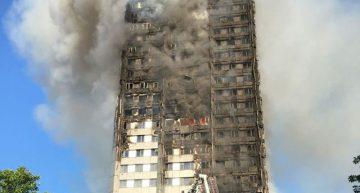 Al menos 12 muertos en incendio de edificio en Londres