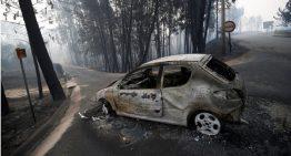 62 personas muertas tras incendio forestal en Portugal