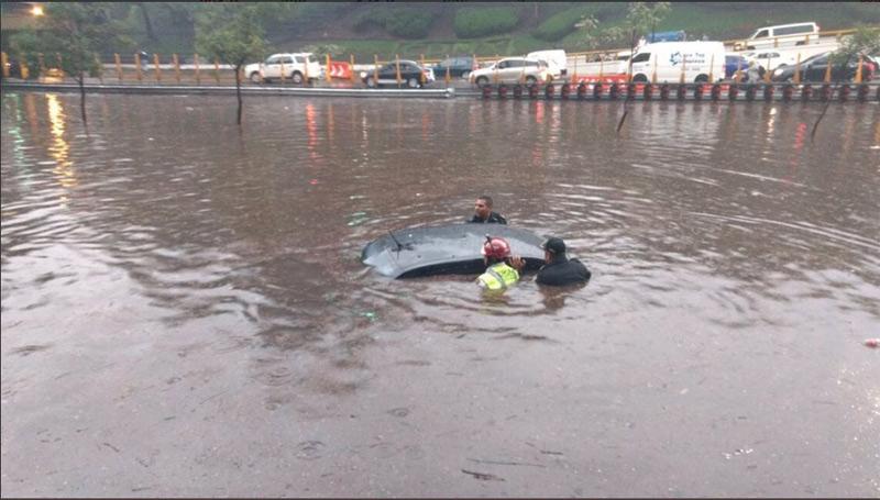 Causó estragos la lluvia en CDMX