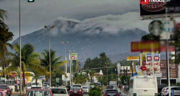 Primera lluvia en Manzanillo