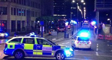 Policía reporta incidentes en tres puntos en Londres