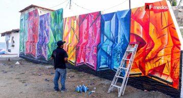 Murales urbanos en Manzanillo