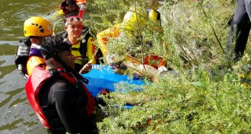 PC Jalisco rescata cuerpos de dos personas en Acatic