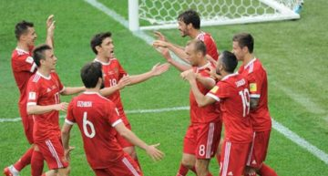 Rusia vence 2-0 a Nueva Zelanda en partido inaugural