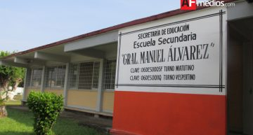 Alumna expone robos a secundaria Manuel Álvarez, en 'La Villa'
