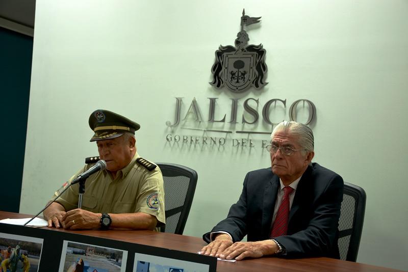 Simulacro ante posible emergencia química en Jalisco