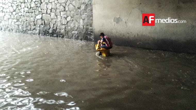 Granizo y una fuerte tormenta azotan a la Zona Metropolitana de Guadalajara