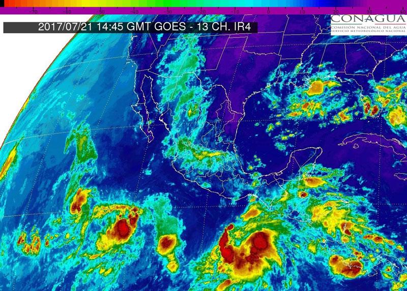 Alertan por depresión tropical en costas de Oaxaca