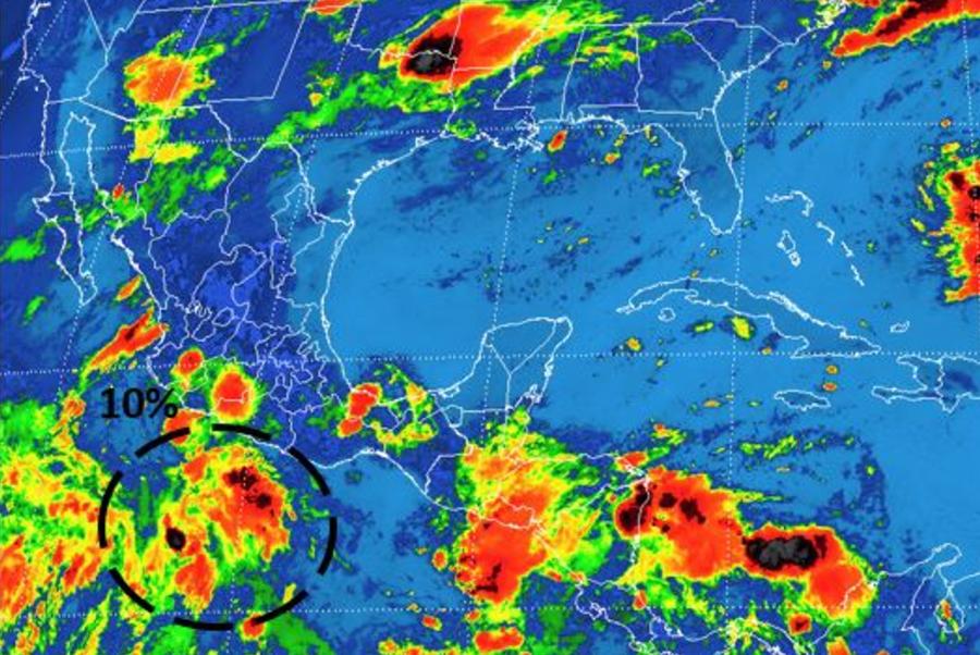 Prevén lluvia vespertina en el Valle de México
