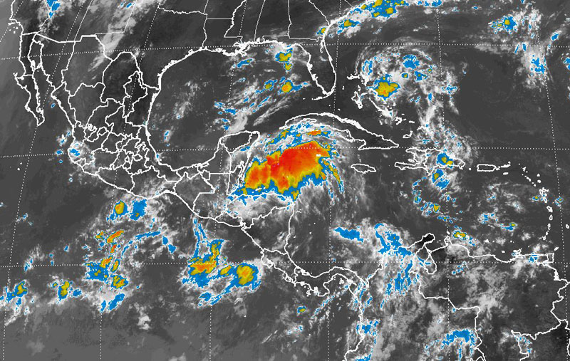 SMN prevé para esta noche tormentas en 18 estados
