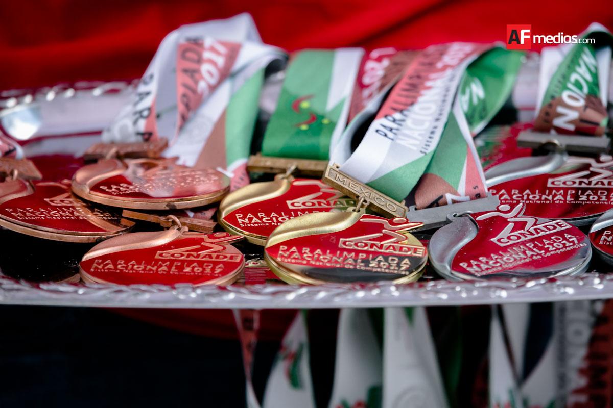 Un oro y dos platas para Sinaloa en Paralimpiada Nacional