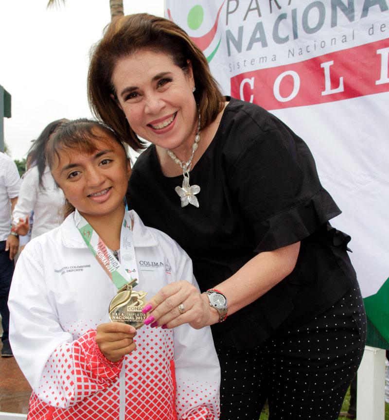 Universitarias logran 4 medallas más en Paralimpiada Nacional 2017