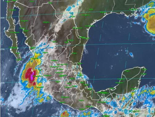 Tamaulipas y SLP esperan lluvias torrenciales