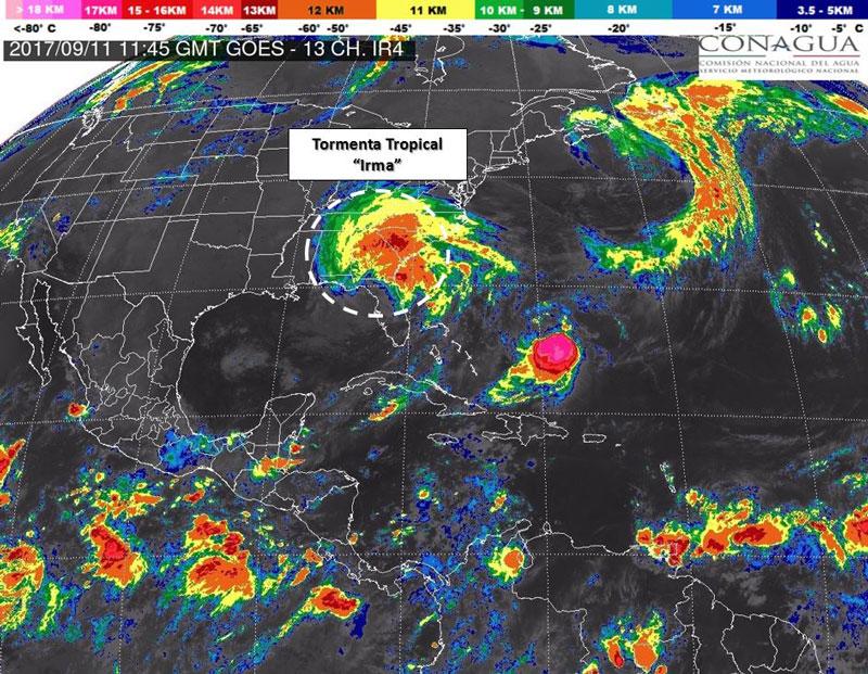 Nace depresión tropical en el Pacífico; causará lluvias en 5 estados