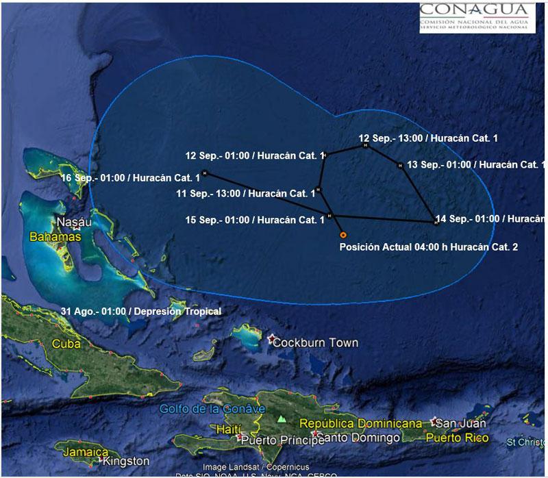 Por huracán 'Max' se suspenden clases en Acapulco: Astudillo