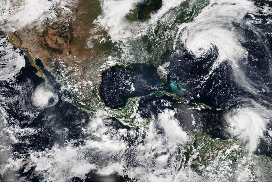 Prevén tormentas para 23 estados del país; intensas en Chiapas y Oaxaca