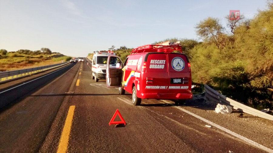 Fatal accidente en Jalisco deja cinco muertos