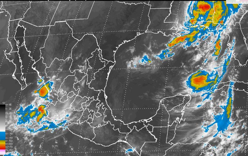 Por tres fenómenos naturales, lloverá en gran parte del país