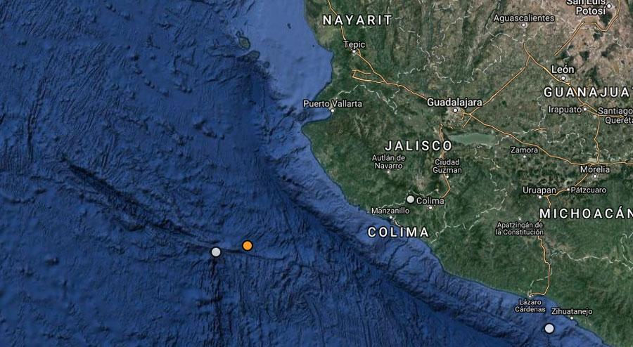 Se registra temblor de 5,6 grados en México