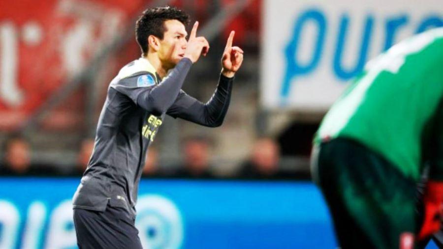 'Chucky' Lozano marcó su primer gol del 2018 con el PSV