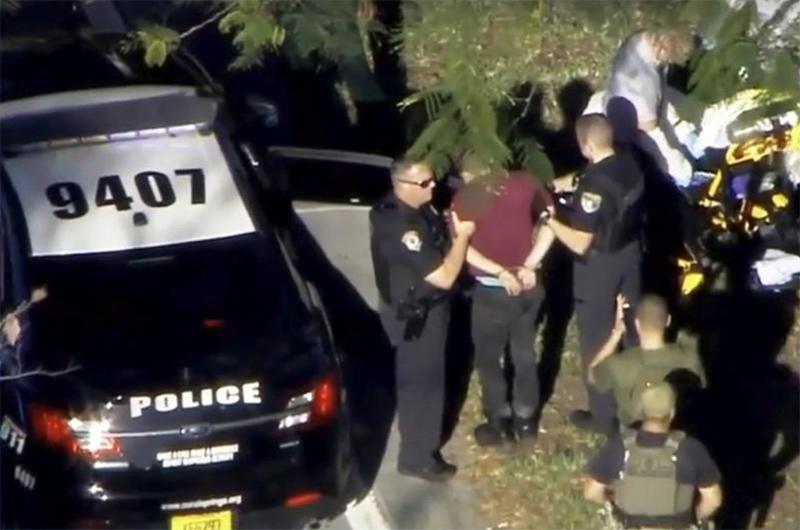 Joven detenido confesó ser autor de matanza en Florida
