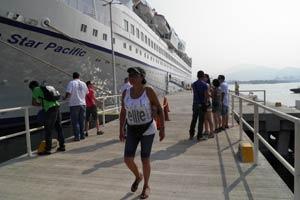 Regresa el Ocean Star a Manzanillo