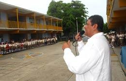 Nabor Inició Ciclo Escolar  Y Techumbre en Primaria