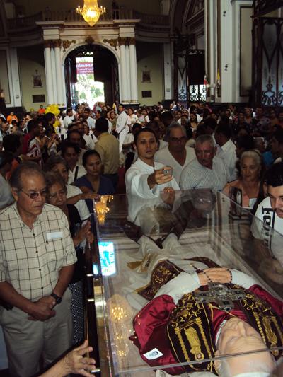Llegan las reliquias de Juan Pablo II a Colima