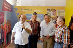 Inauguran de manera oficial stand de la Universidad de Colima, en la Feria