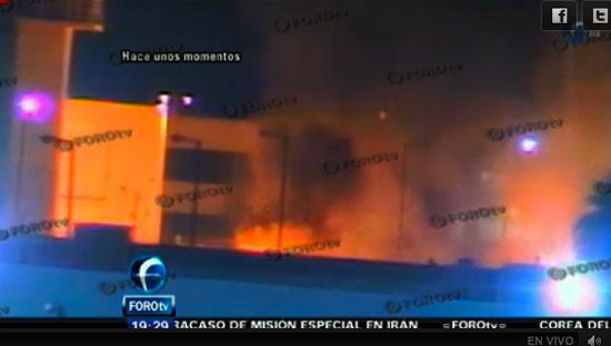Reportan incendio en Cereso de Apodaca