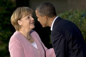 Los líderes del G-8 debaten la austeridad europea con Obama como anfitrión