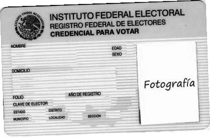 Si es 2009, renueva, IFE invita a cambiar credencial de elector