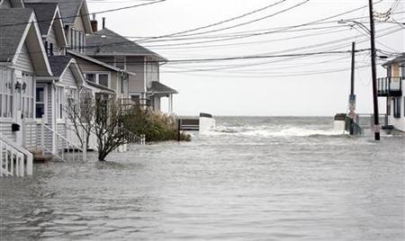 Nueva York inundada al arrasar Sandy Costa Este de EEUU
