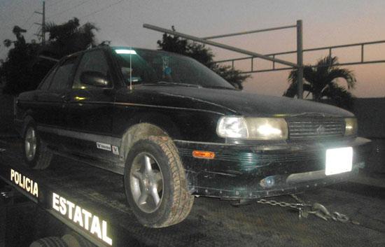 SSP captura a ladrón de vehículo