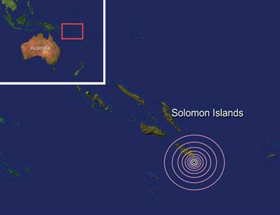Sismo de 8.0 Richter en Islas Salomón genera tsunami de 1 metro; cancelan alerta en Pacífico Sur