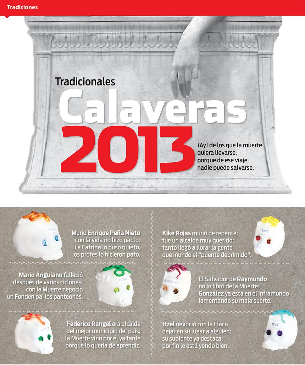 Calaveras 2013