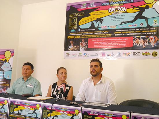 Realizarán la primera carrera Vive Manzanillo
