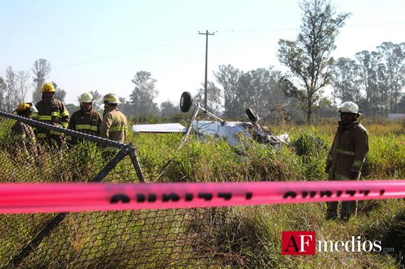 Una aeronave de la Fuerza Aérea Mexicana se desplomo dejando saldo de dos lesionados en Zapopan