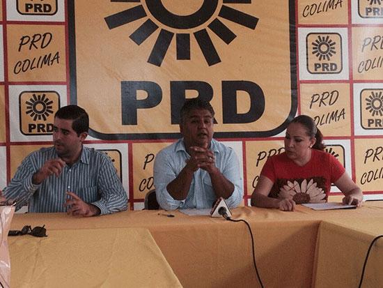 PRD señala que Visfocri es víctima de campaña de desprestigio del PRI