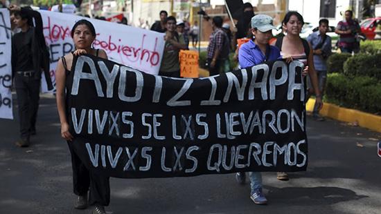 Senado solicita que continúen investigaciones de estudiantes de Ayotzinapa desaparecidos