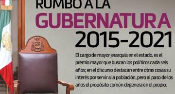Rumbo a la gubernatura 2015-2021
