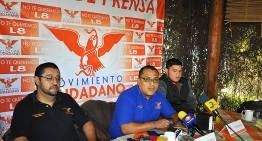 """""""Leoncio Morán impone candidatos"""", denuncian aspirantes de MC; el partido les responde"""
