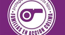 Familias colimenses proponen uso de 'silbato' ante inseguridad y convocan a marcha