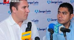 Gobernador de Puebla viene a respaldar a Jorge Luis y hablar cómo gobierna el PAN