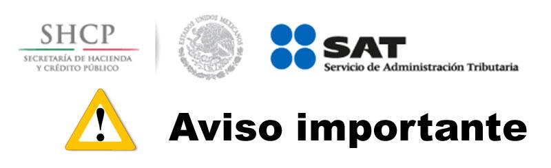 Shcp y sat alerta sobre posibles fraudes invitan a no for Oficina virtual ministerio de hacienda