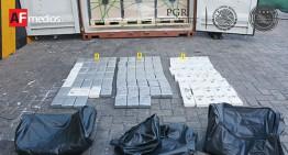 Armada y SAT aseguran 101 kilos de cocaína en Aduana de Manzanillo