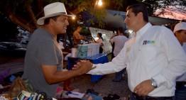 """""""Mejoraré infraestructura y seguridad en tianguis"""": Oswy Delgado"""